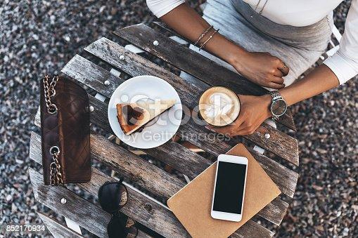 istock Little coffee break. 852170934