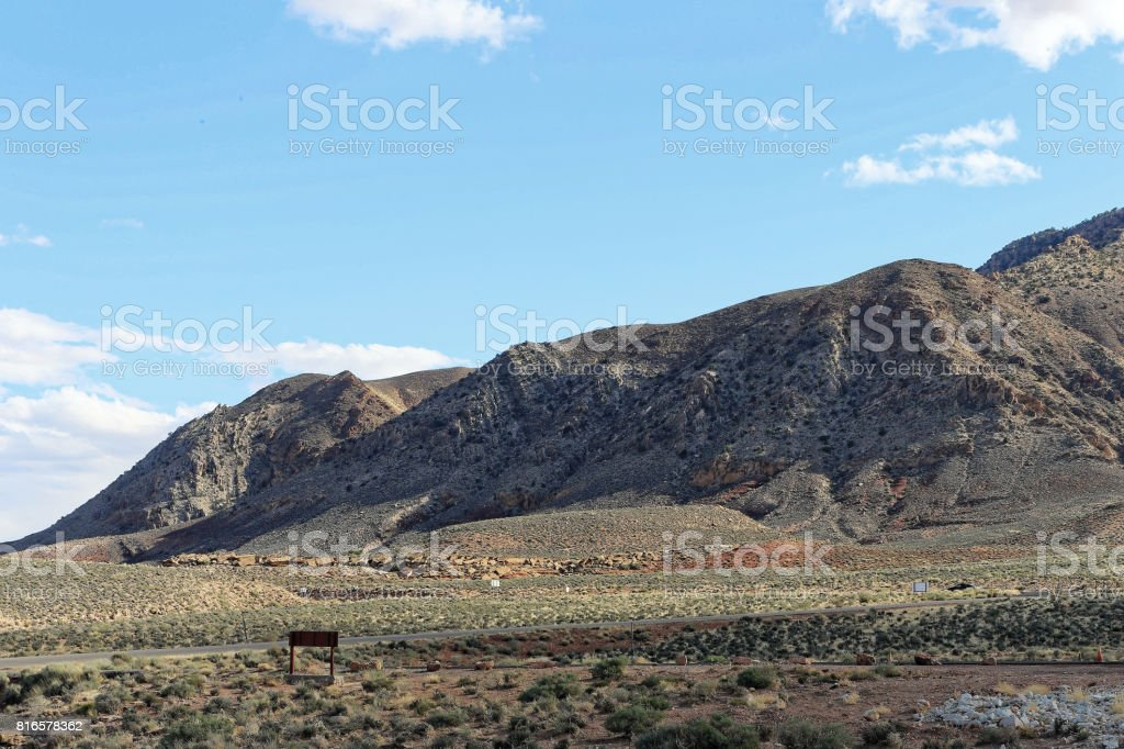 Little Colorado Canyon stock photo