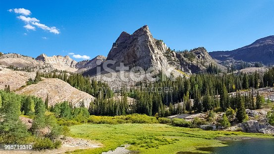 Little Cottonwood Canyon outside Salt Lake City, Utah in the   the Wasatch-Cache National Forest along the eastern side of the Salt Lake Valley.