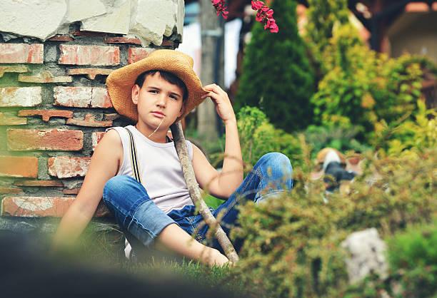 Little country boy – Foto