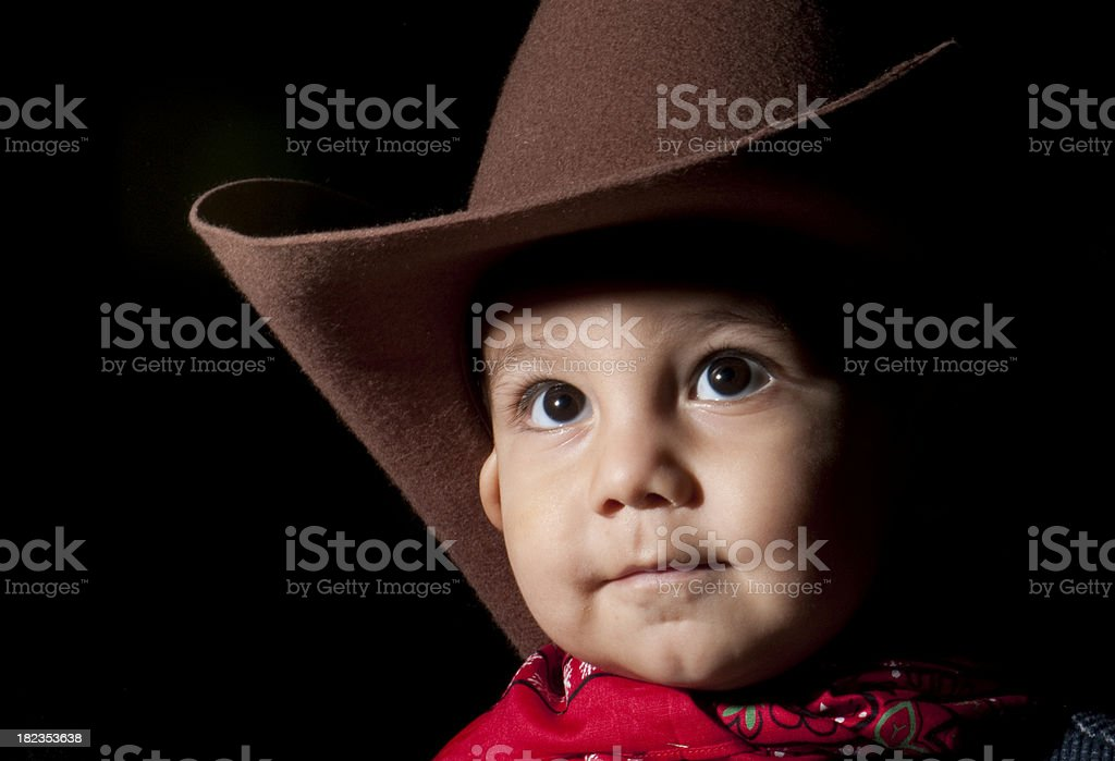 De Little Cowboy - foto de stock