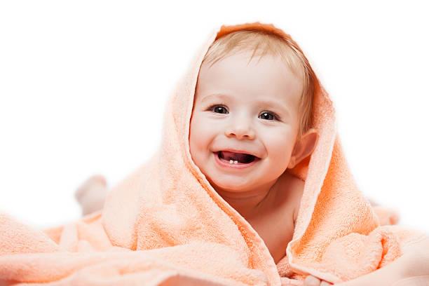 little cute newborn baby child - baby teeth stok fotoğraflar ve resimler