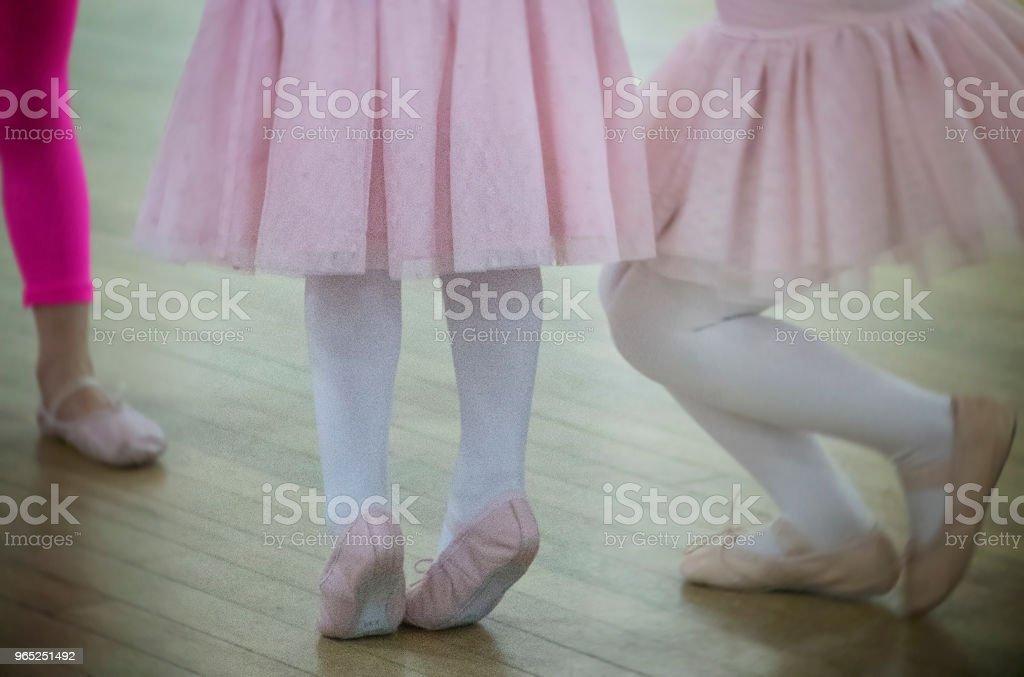 Little Dance Feet royalty-free stock photo