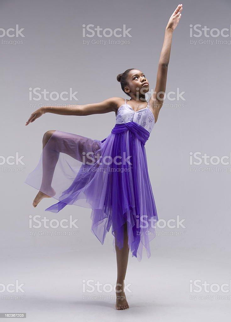 Little Dancing Ballerina stock photo