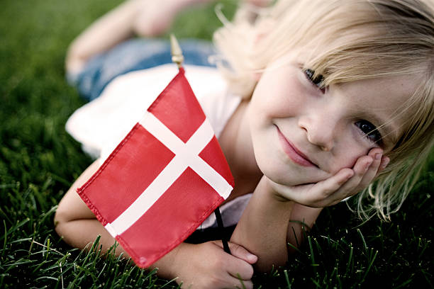 little danish girl - denmark stock photos and pictures