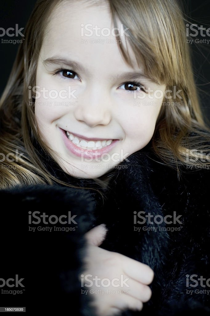 Little Diva royalty-free stock photo