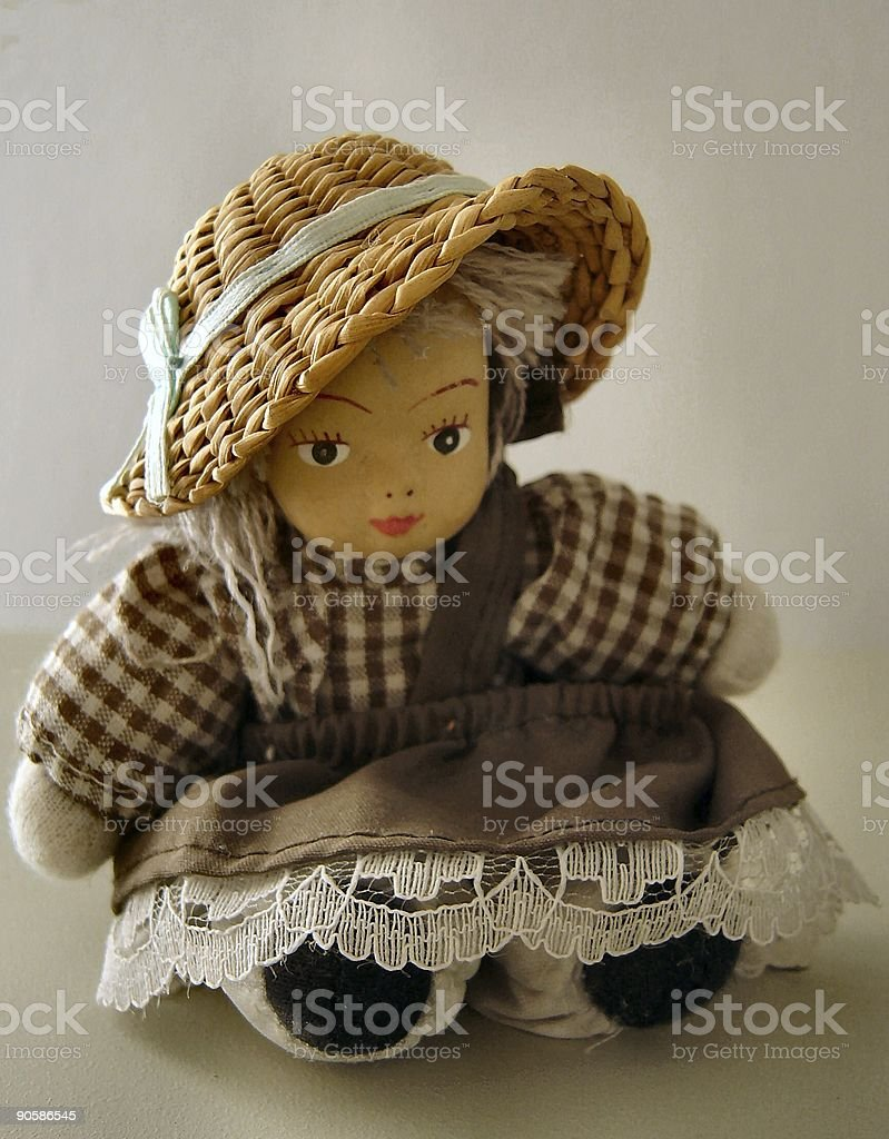 Little doll royalty-free stock photo