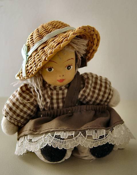 Little doll stock photo