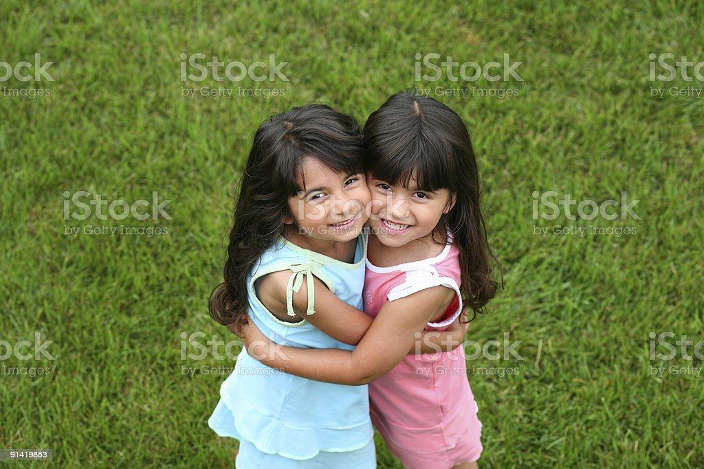 Little Dolls stock photo