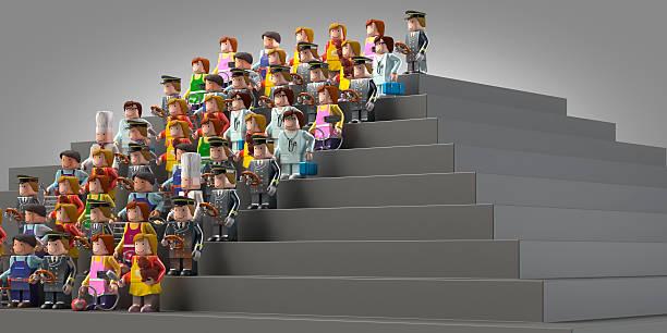 Little dolls representing different occupations on stairs picture id452129269?b=1&k=6&m=452129269&s=612x612&w=0&h=ps7wopctlne 4kg yie aki2gydnhxxjfcyqvtsh2ze=
