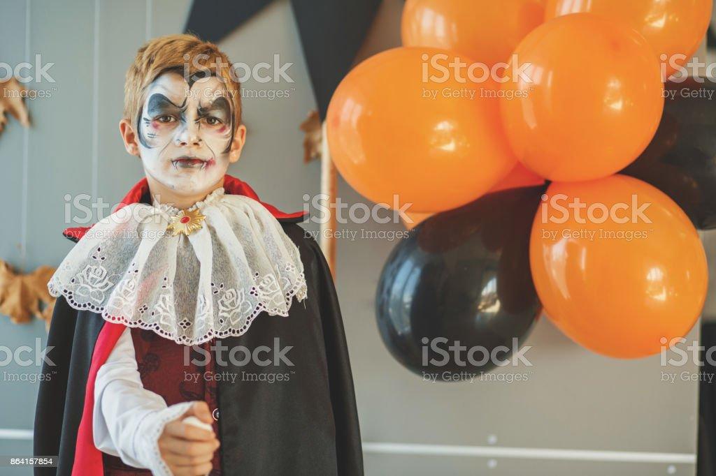 Little Dracula royalty-free stock photo