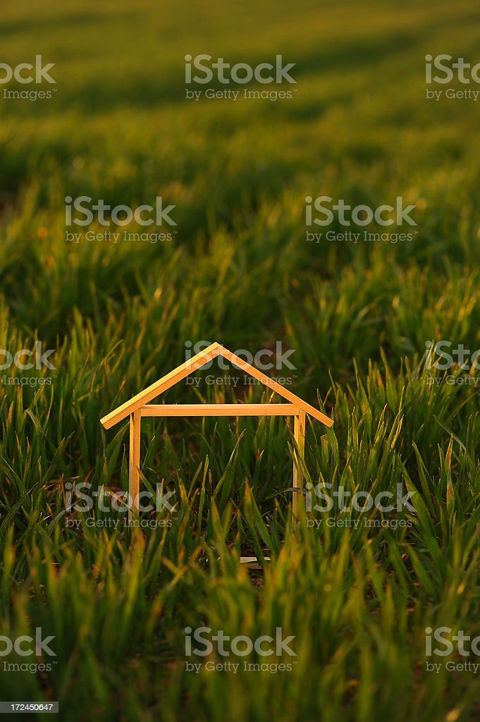Little dream house royalty-free stock photo