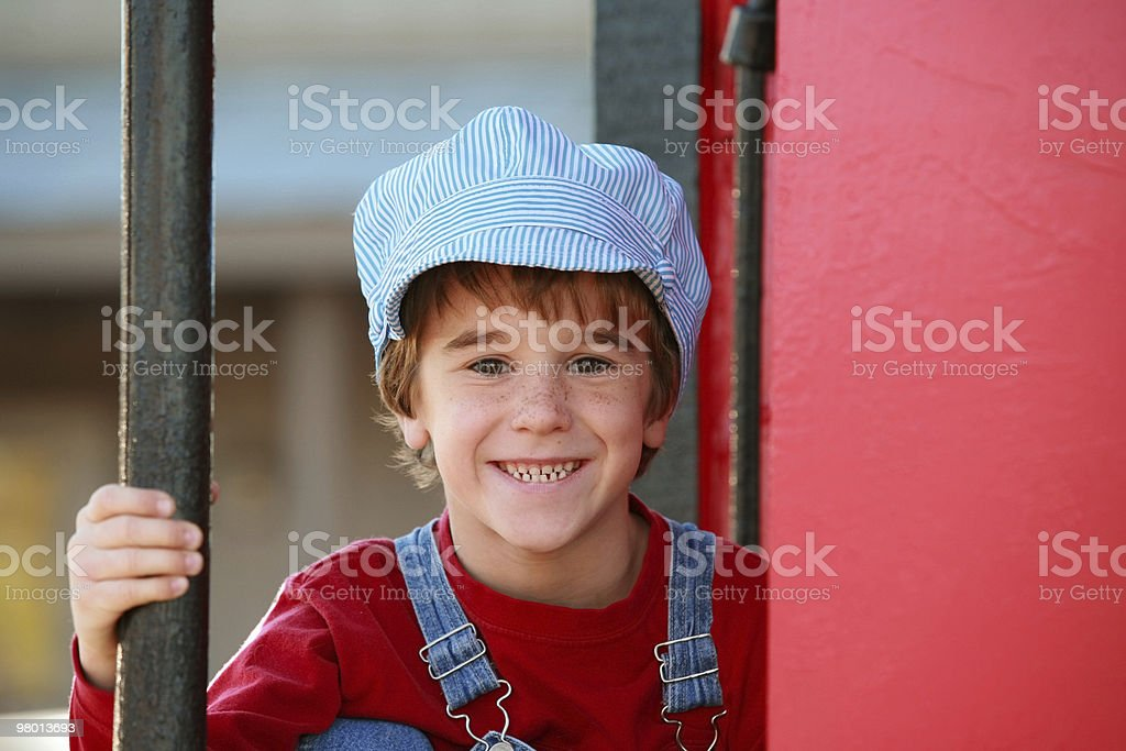 Little Engineer stock photo