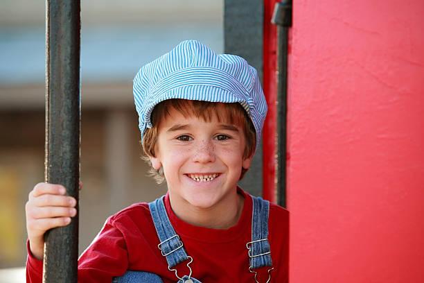 Little Engineer stock photo