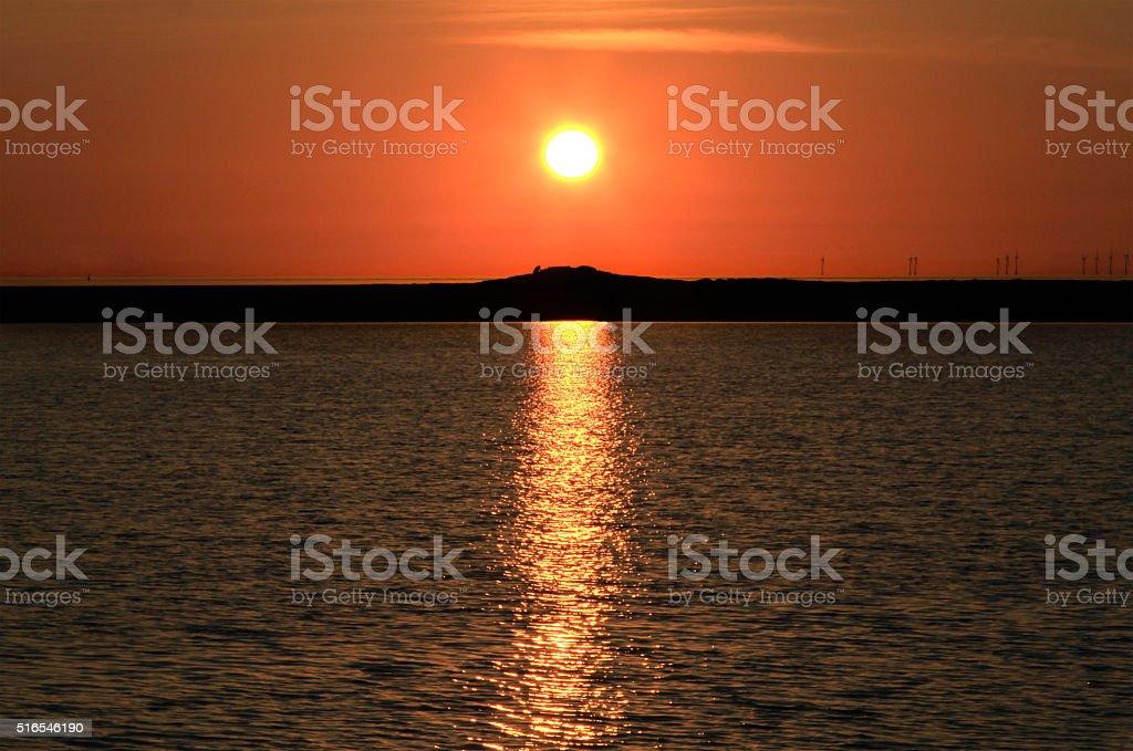 Little Eye Sunset royalty-free stock photo