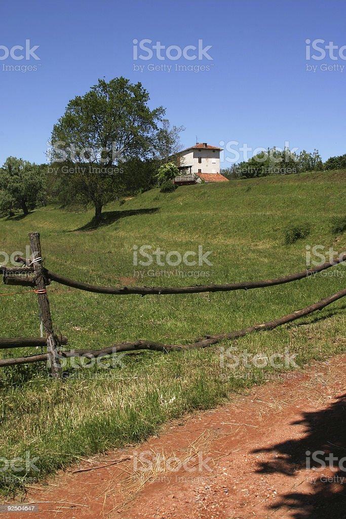 little farm royalty-free stock photo