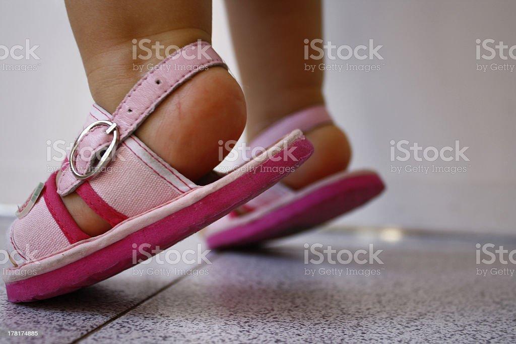 Little pés - foto de acervo