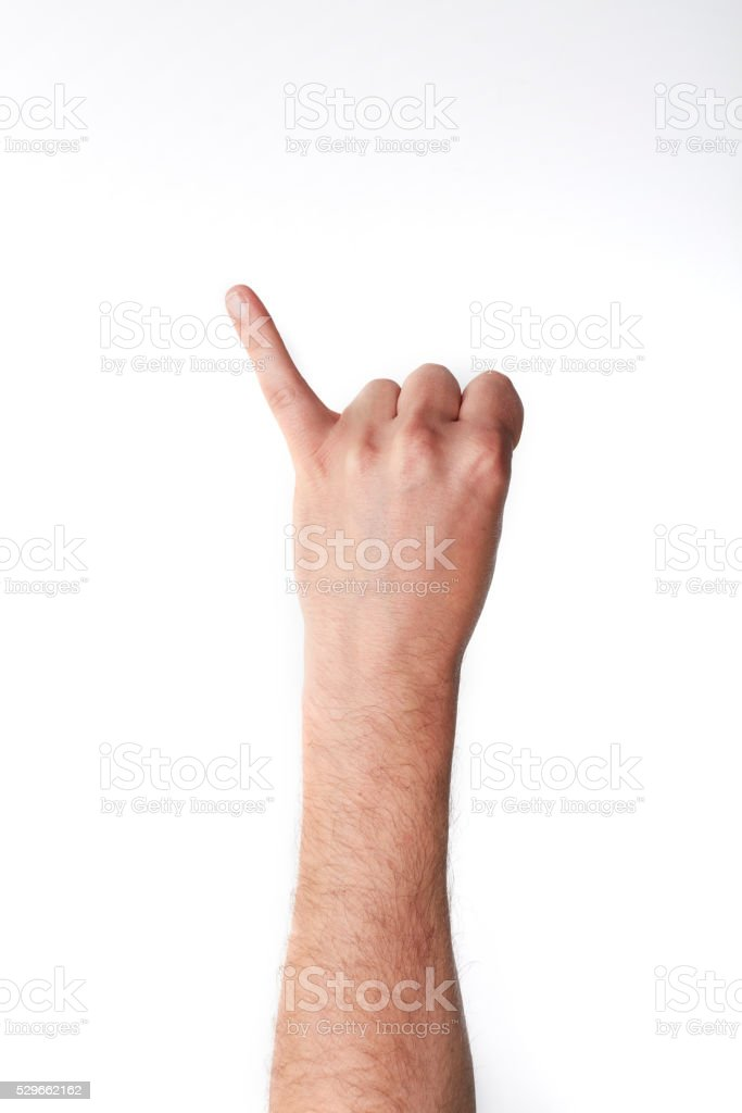 little finger stock photo