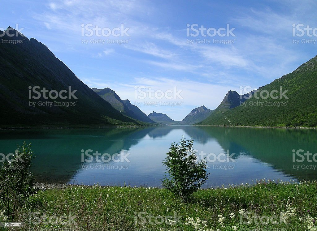 Little fjord royalty-free stock photo