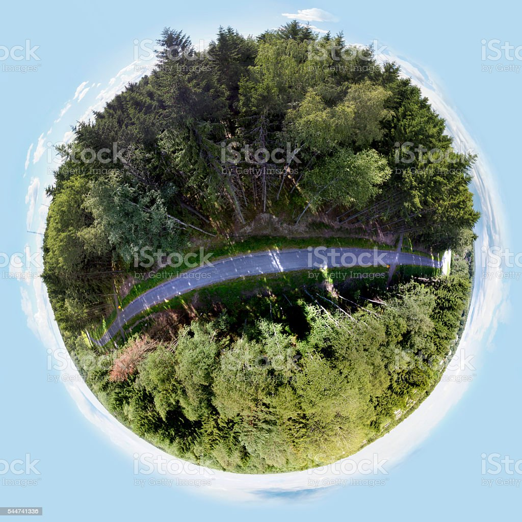 Little Forest Planet stock photo
