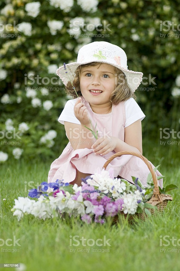 Little gardener royalty-free stock photo
