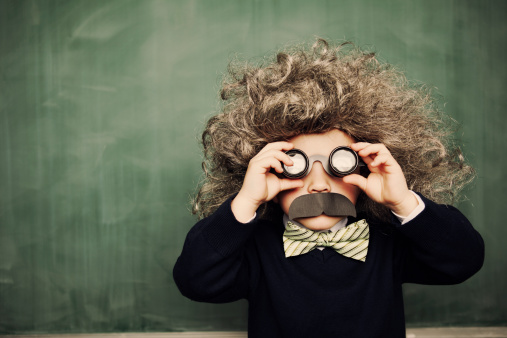 A young smarty pants sees the world in a unique way. What is your approach to problems?