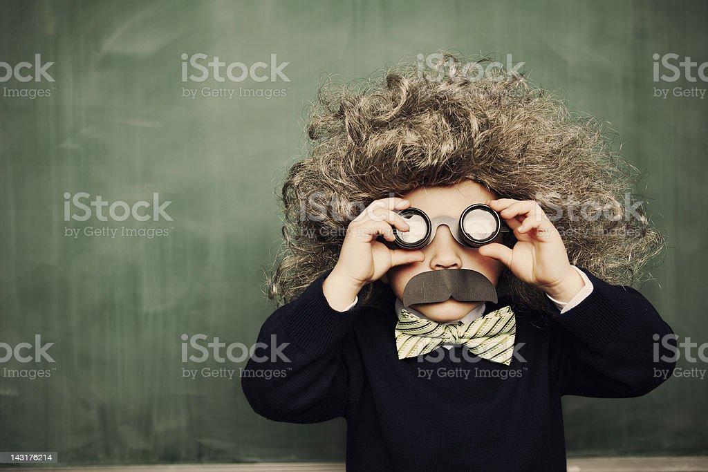 Little Genius stock photo
