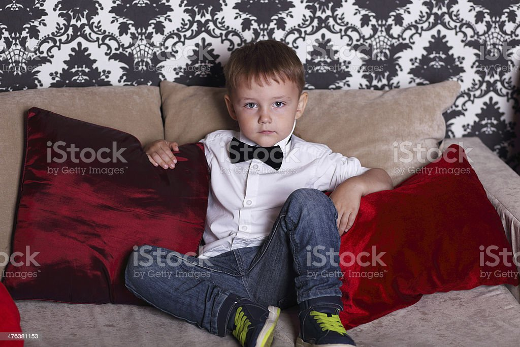 Little gentelman royalty-free stock photo