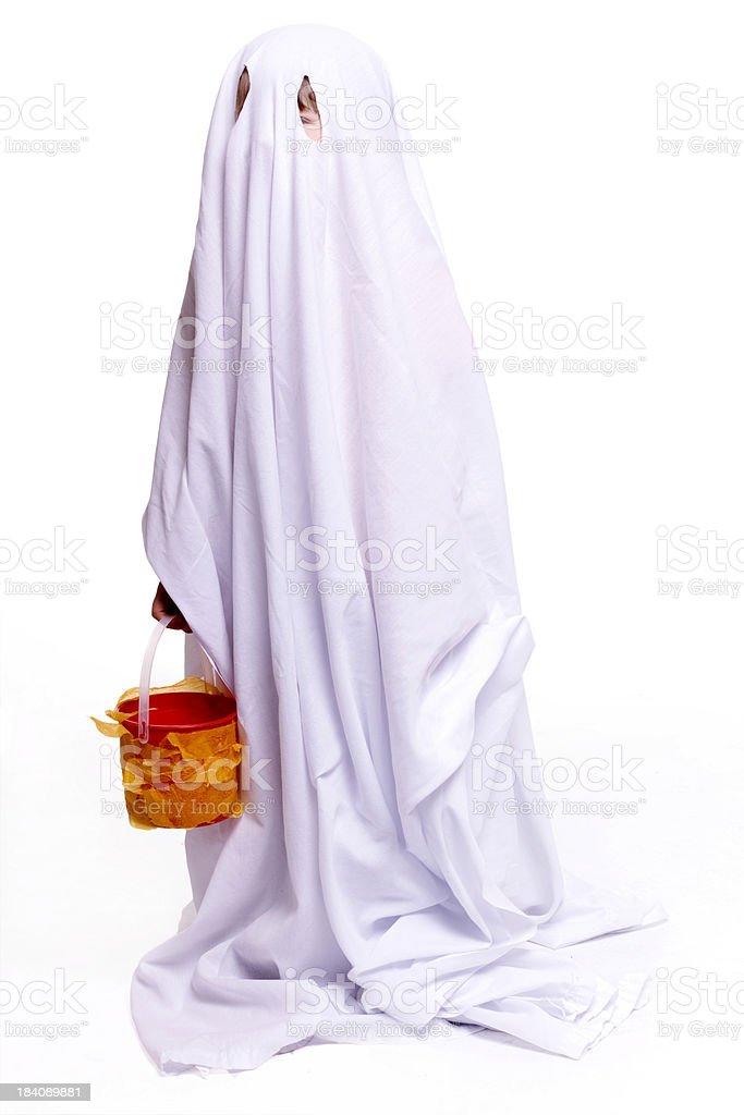 Little ghost stock photo