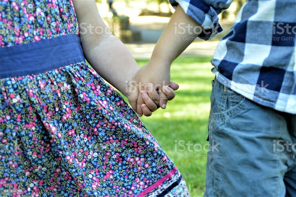 Royalty Free Boy And Girl Holding Hands Pictures Images And Stock