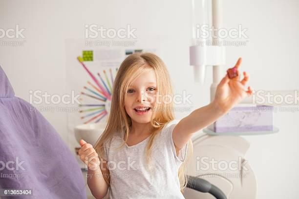 Kleines Mädchen Beim Zahnarzt Stockfoto und mehr Bilder von Zahnarzt