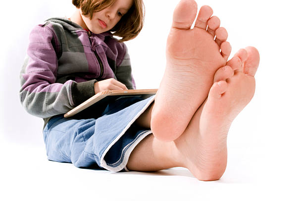 royalty free young girls feet drawings pictures images and stock