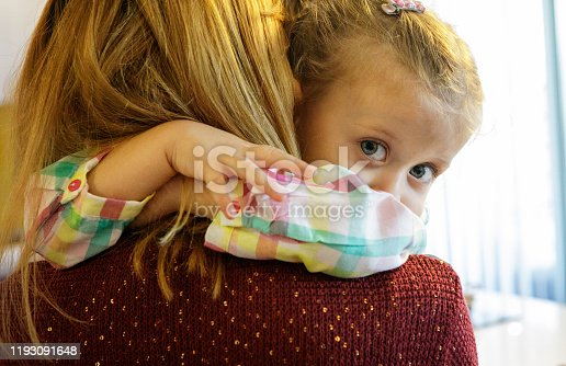 466231012 istock photo Little Girl Embracing Her Mother 1193091648
