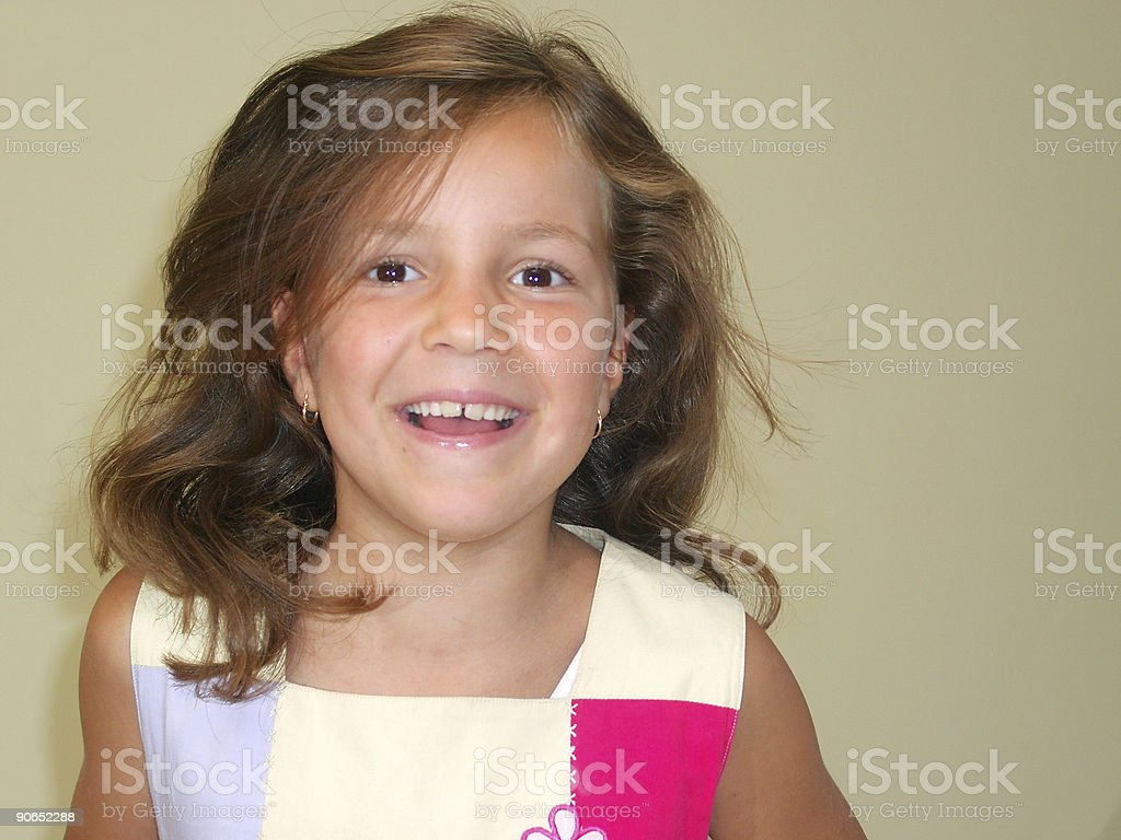 Little girl happy_34 royalty-free stock photo