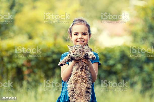 Little girl holding cat outdor focus an cat picture id585295222?b=1&k=6&m=585295222&s=612x612&h=6vi rhexjhcvcpxa0mcbo8ao1fdqtivkiee0srggje0=