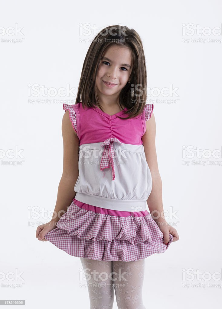 little girl in royalty-free stock photo