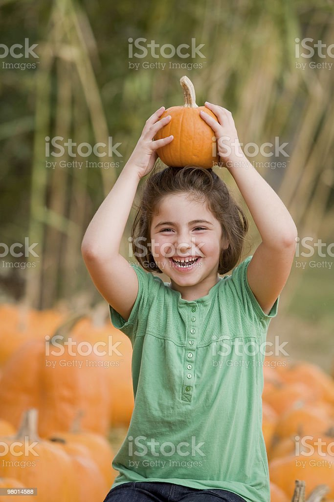 Little Girl Laughing royalty-free stock photo