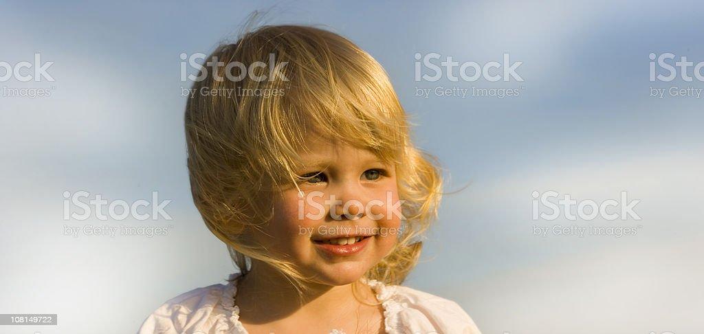 Little Girl royalty-free stock photo