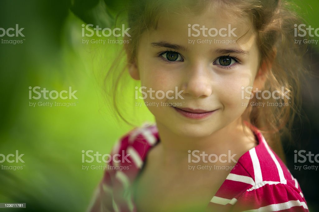 Little girl royalty-free stock photo