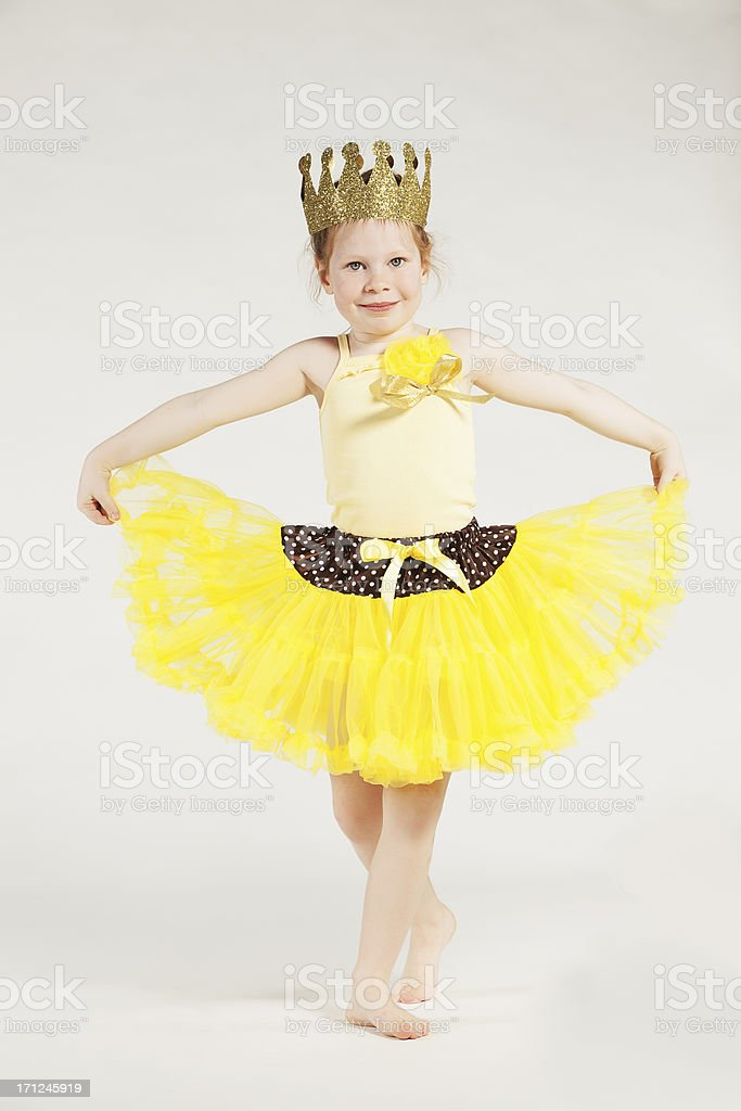 Little girl. royalty-free stock photo