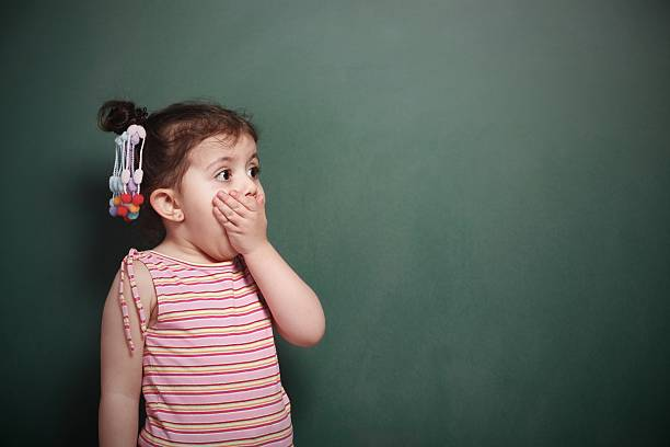 Little Girl Little Girl gasping stock pictures, royalty-free photos & images
