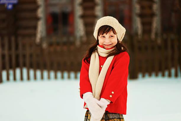 Little girl. stock photo