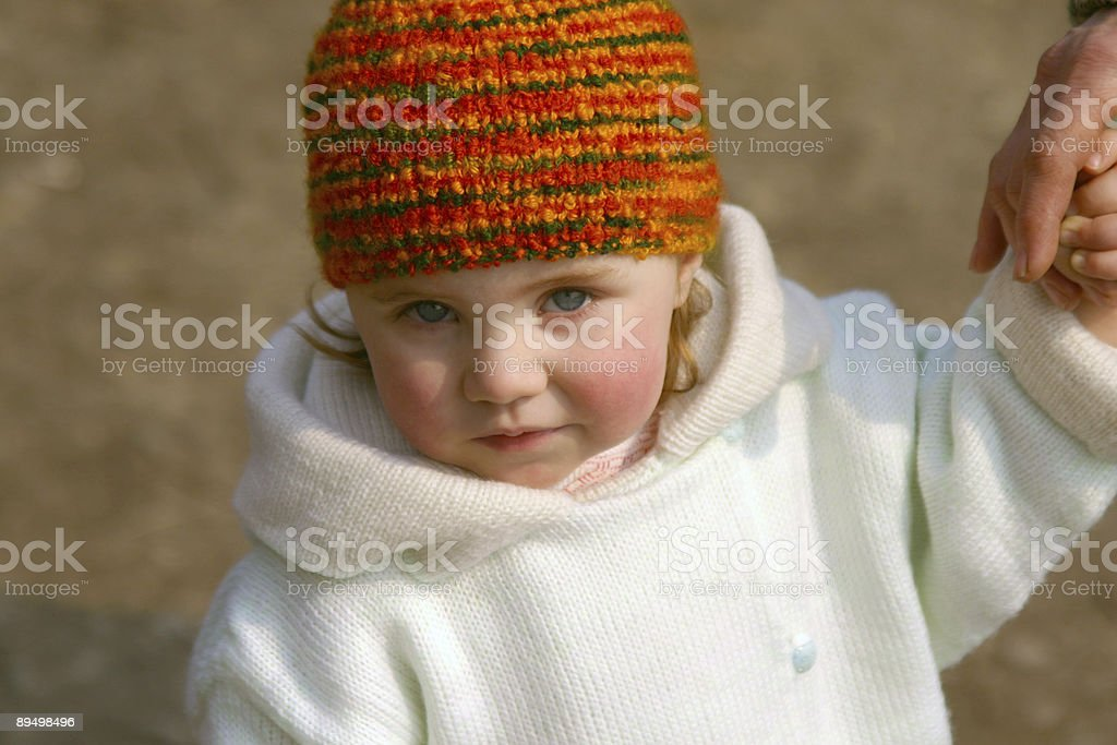 Little girl royalty free stockfoto