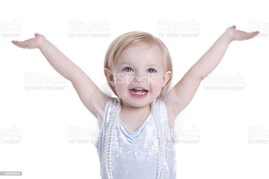 Kleines Mädchen Dress Up spielen – Foto