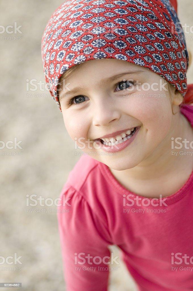 Kleines Mädchen, Porträt Lizenzfreies stock-foto