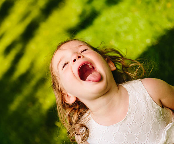 Mouth Open Little Girls Child Human Tongue Pictures