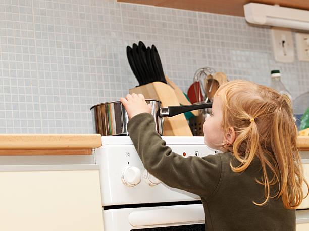Gefahr in der Küche – Foto