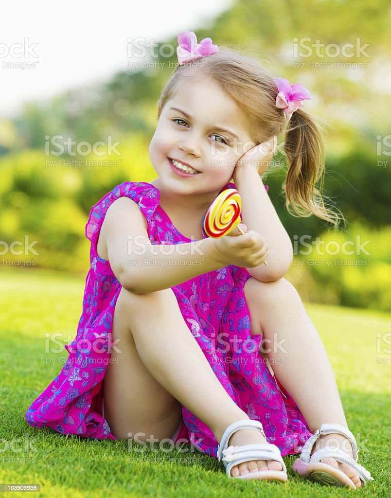 Little girl with lollipop stock photo istock - Pics of small little girls ...