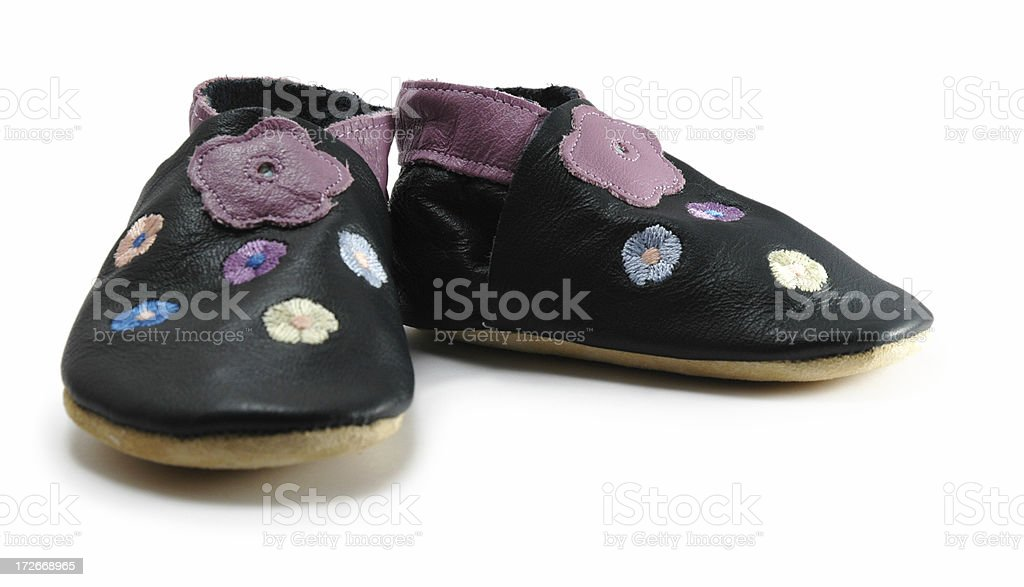 Little Girl's Cruisers royalty-free stock photo
