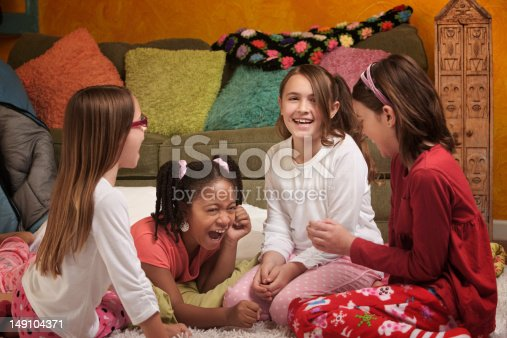istock Little Girls Laughing 149104371